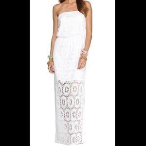 Lily Pulitzer Emmett strapless maxi dress Size:L